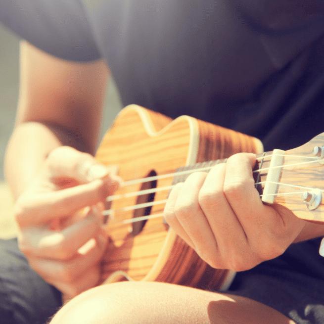 escola de musica aula de ukulele